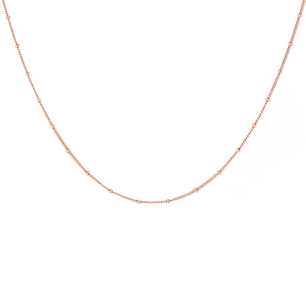 Satellite Rose Gold Chain