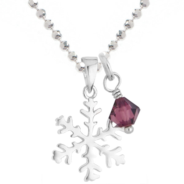 Snowflake Sparkle Necklace