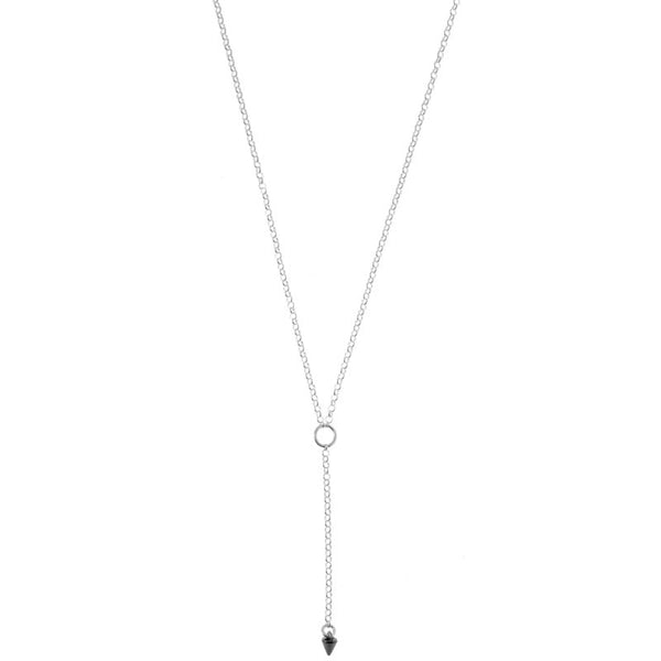 Spike Lariat Necklace