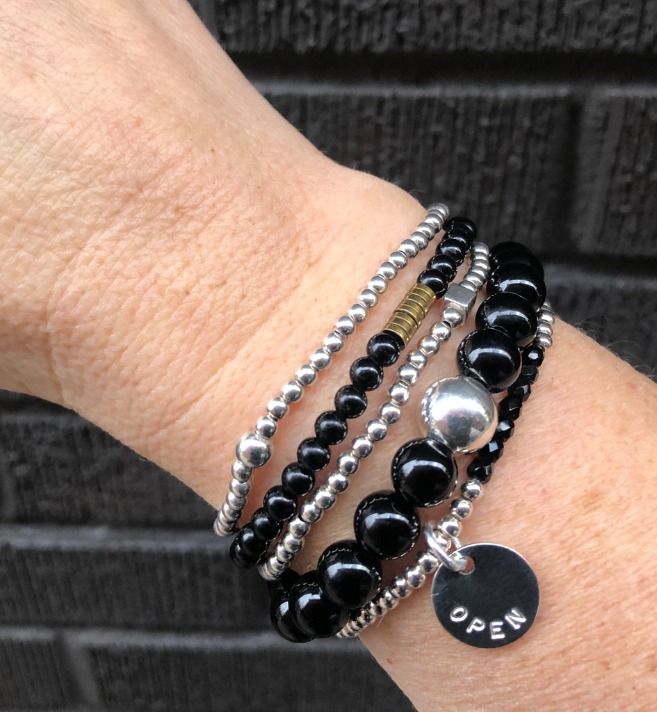 Warrior Intention Bracelet Stack
