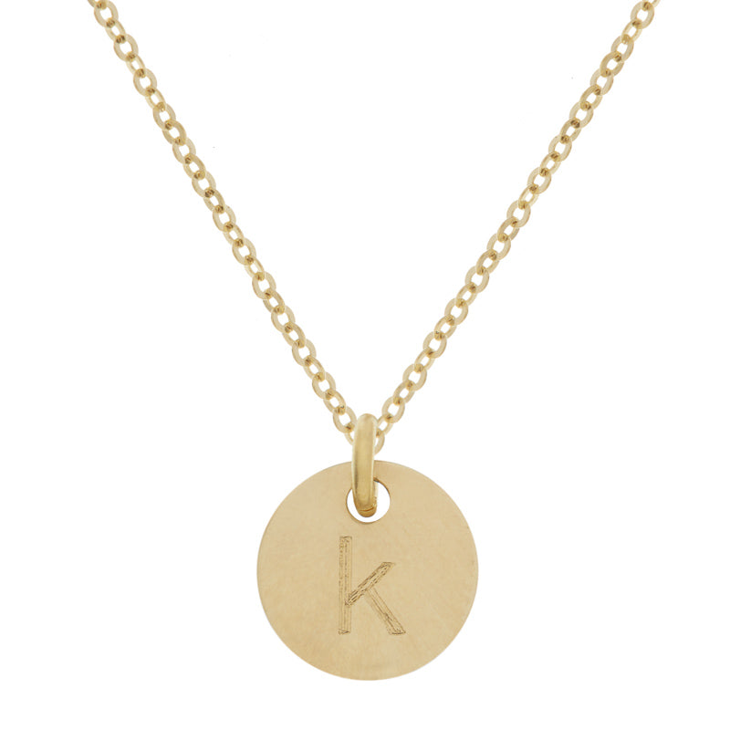 Yellow Gold Bud Necklace