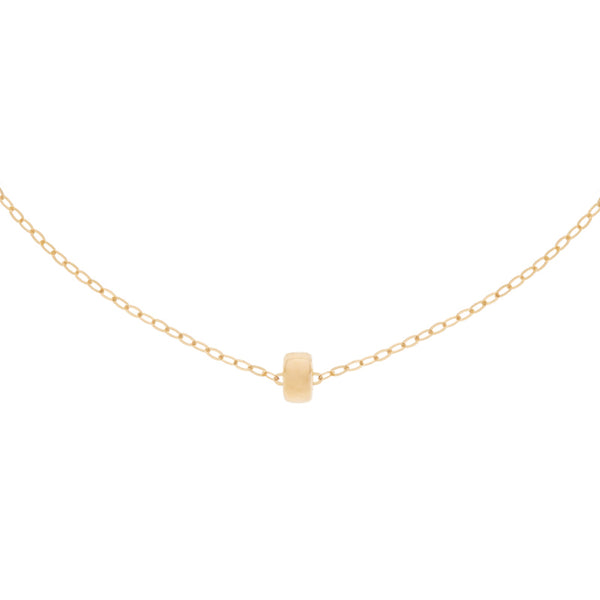 Yellow Gold Endless Summer Necklace