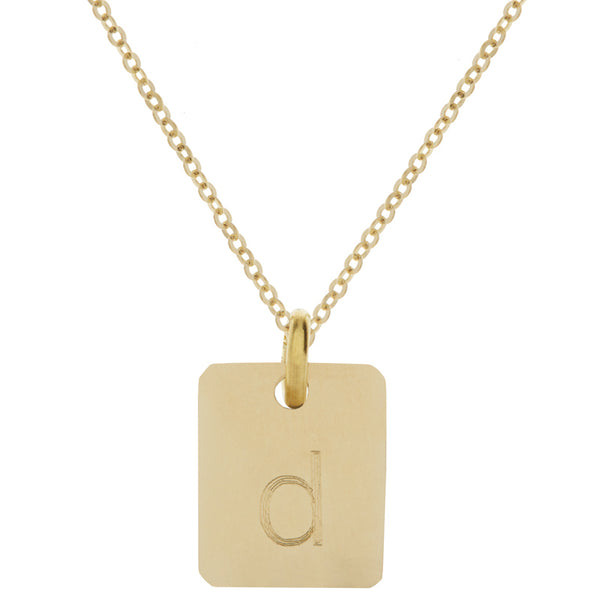 Yellow Gold Mini Necklace