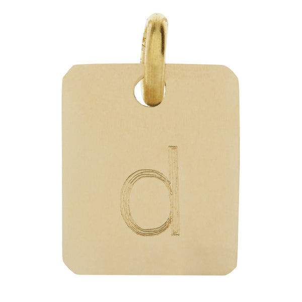 Yellow Gold Mini Pendant
