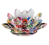 Glass-Crystal-Lotus-Flower-Candle-Holder-Rainbow