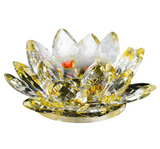 Glass-Crystal-Lotus-Flower-Candle-Holder-Yellow