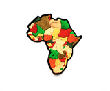 Africa-Topographic-Map-Iron-On-Patch