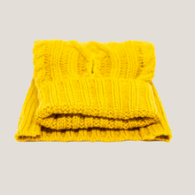 Cable Knit Mustard