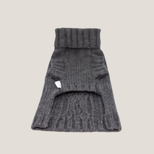 Cable knit Slate Grey
