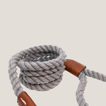 Cotton Rope Lead Grey