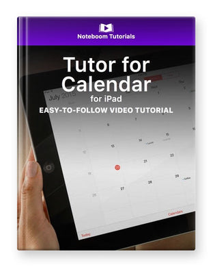 Tutor for Calendar for iPad