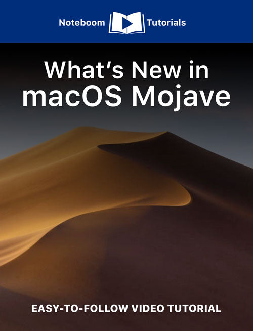 What's New in macOS Mojave