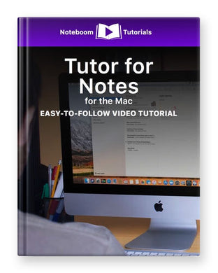 Tutor for Notes on the Mac