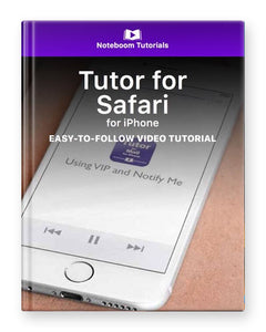 Tutor for Safari for iPhone
