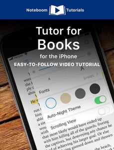 Tutor for Books for iPhone