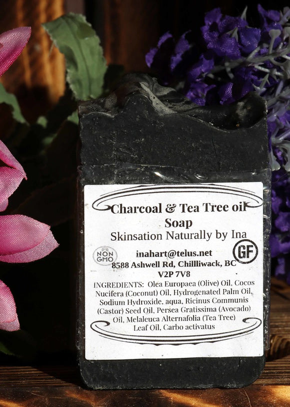 Activated Charcoal & Tea Tree - Skinsation Naturally
