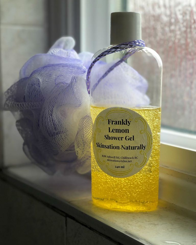 Frankly Lemon Shower Gel - Skinsation Naturally