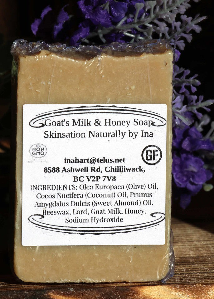 Goat's Milk & Honey Soap - Skinsation Naturally