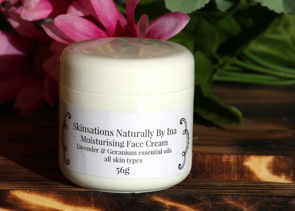 Moisturizing Face Cream - Skinsation Naturally