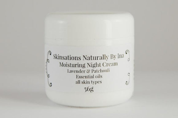 Moisturizing Night Cream - Skinsation Naturally