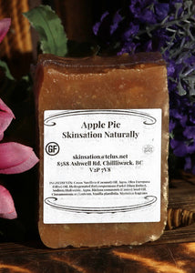 Apple Pie Soap - With cinnamon - Skinsation Naturally