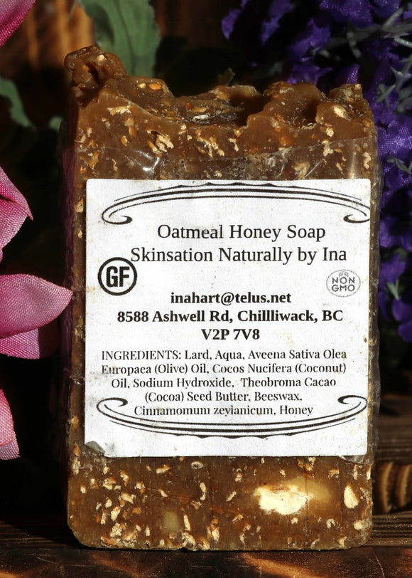 Honey Oatmeal Soap - Skinsation Naturally