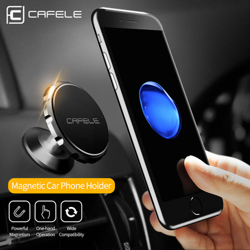Magnetic Car Phone Holder Stand For iphone X 8 7 And Samsung S8 - 3 Styles