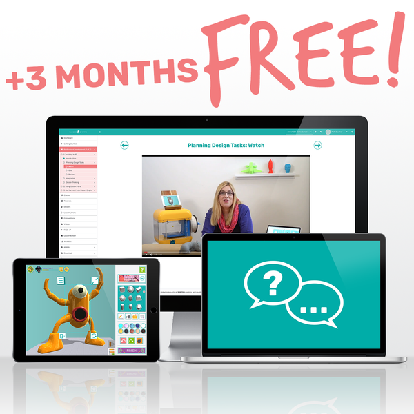 Makers Empire School Subscription + 3 months FREE