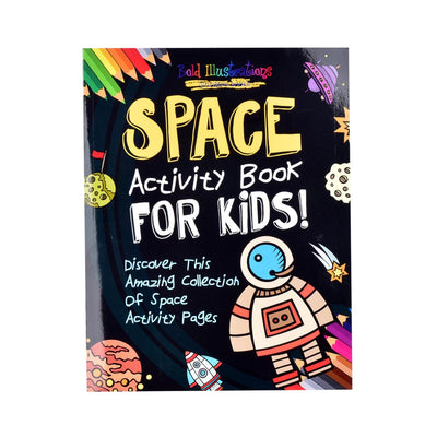 SPACE ACTIVITY BOOK FOR KIDS! - Life Soleil