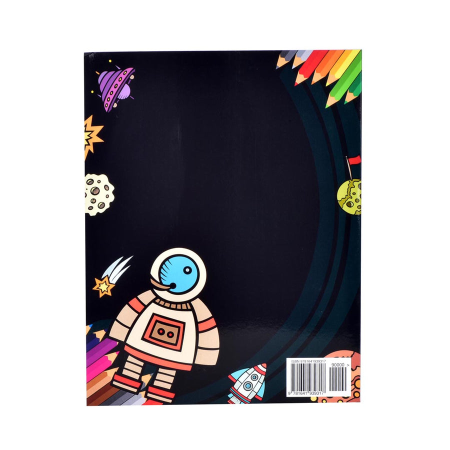SPACE ACTIVITY BOOK FOR KIDS!