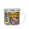 RETRO MARVEL COMICS MUG-12 OZ