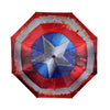 RETRO MARVEL COMICS CAPTAIN AMERICA SHIELD UMBRELLA