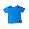 DC COMICS SUPERMAN TODDLER CAPED LOGO T-SHIRT