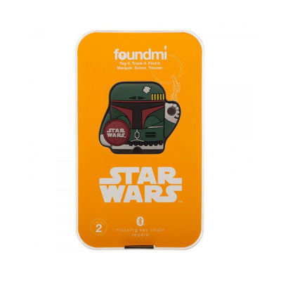 STAR WARS BOBA FETT FOUNDMI 2.0 PERSONAL BLUETHOOTH TRACKER