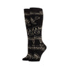 HARRY POTTER ADVANCED WIZARDRY SPELLS LUREX KNEE HIGH SOCKS