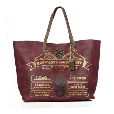 HARRY POTTER HOGWARTS SCHOOL LIST TOTE BAG - Life Soleil