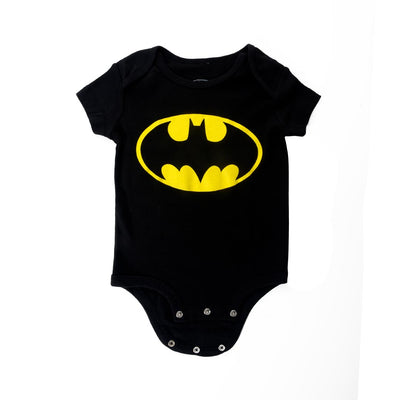 DC COMICS BATMAN LOGO INFANT ONESIE