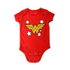 DC COMICS WONDER WOMAN LOGO INFANT ONESIE