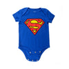 DC COMICS SUPERMAN LOGO INFANT ONESIE