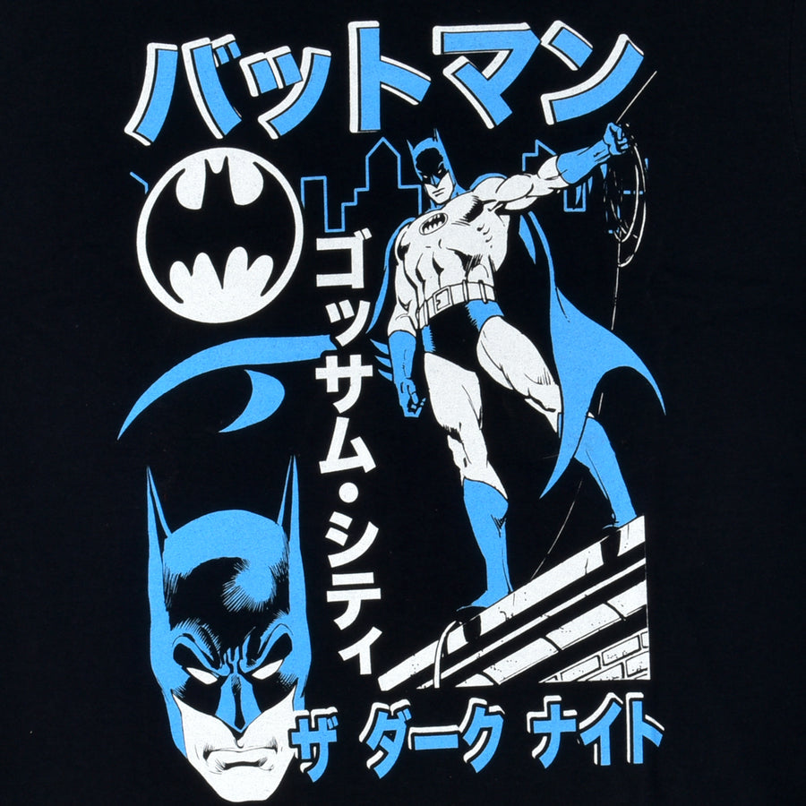 BATMAN KATAKANA BLACK TEE