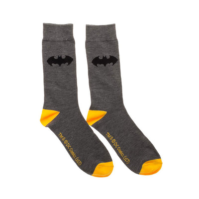 DC COMICS BATMAN 2 PACK CREW SOCKS