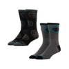 MARVEL BLACK PANTHER 2 PACK CREW SOCKS