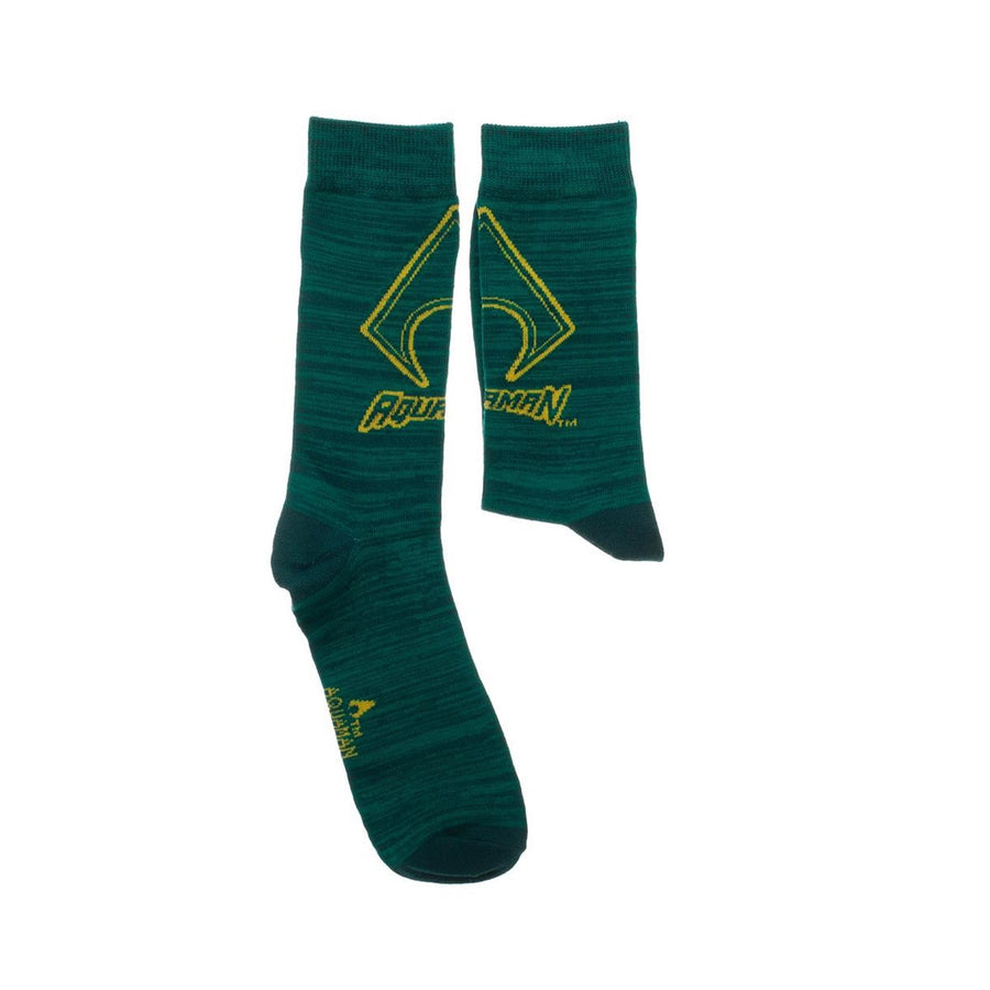 DC COMICS AQUAMAN 2 PACK CREW SOCKS