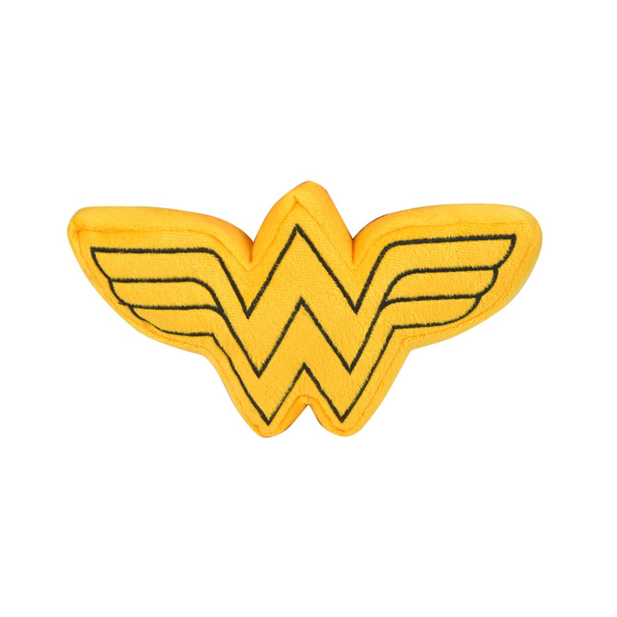 WONDER WOMAN SQUEAKY PLUSH TOY
