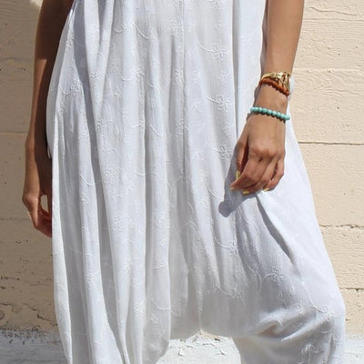 DAUGHTERS OF CULTURE WHITE JUMPSUIT