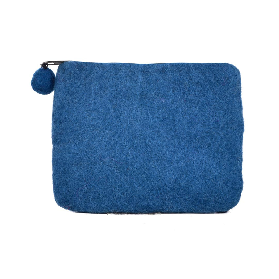 KITTY  WOOL FELT COIN PURSE