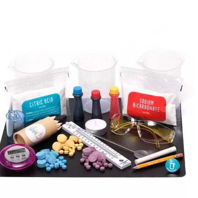 YELLOW SCOPE FOUNDATION CHEMISTRY: BEAKERS & BUBBLES KIT