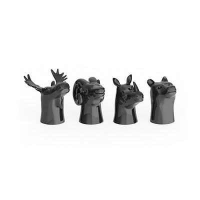 FOSTER & RYE ANIMAL HEAD SHOT GLASSES