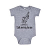 TALK NERDY TO ME ONESIE - INFANT