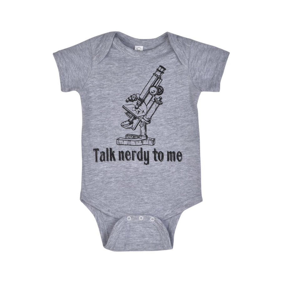 TALK NERDY TO ME ONESIE - INFANT - Life Soleil